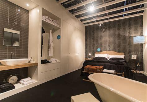 bagno in da letto da letto con bagno su misura mobili toson