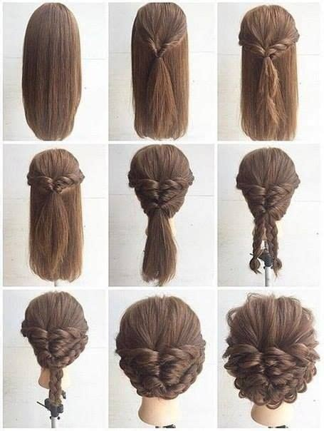 diy occasion hairstyles 12042 best hair style and tips images on pinterest