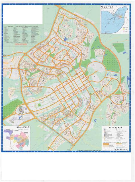 the city of map abuja city tourist map abuja nigeria mappery