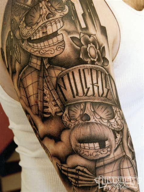 lowrider art tattoos david feature artist lowrider arte magazine