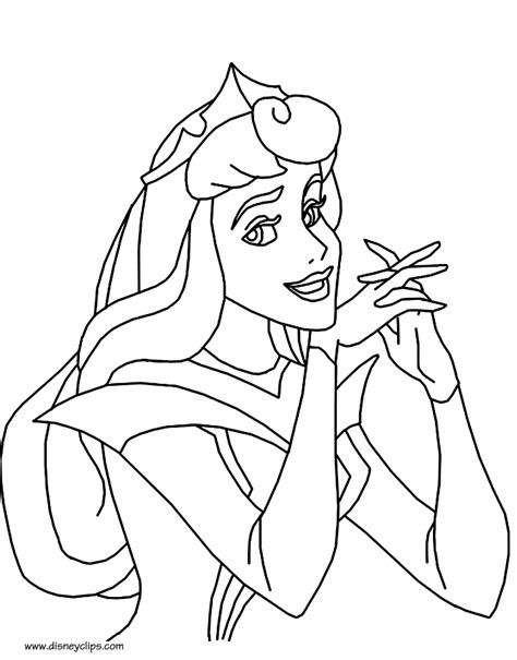 sleeping beauty printable coloring pages disney coloring