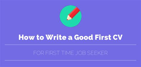 How Do You Write A Resume For Your First Job by How To Write Amp Make A Good First Cv For Your First Job