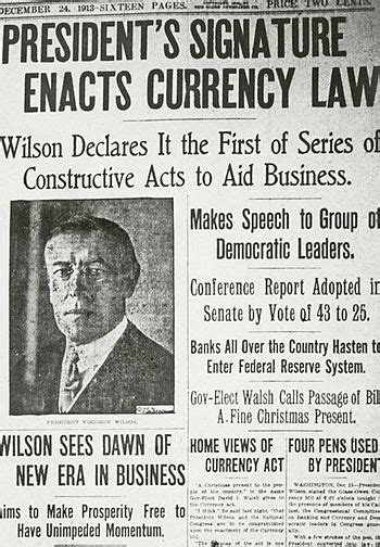 history of the federal reserve bank history of the federal reserve system