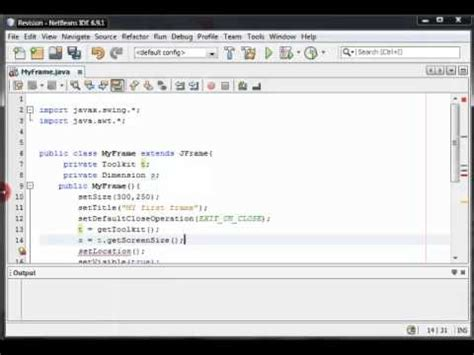 java swing center window java swing tutorial 2 creating a new frame window