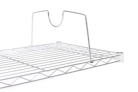 Wire Shelf Dividers For Wire Racks Wire Shelf Additions Shelf Dividers For Wire Shelves