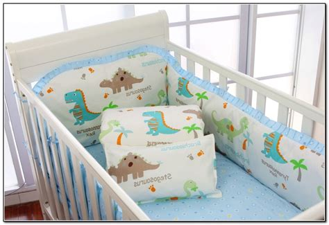 Dinosaur Crib Bedding For Boys Beds Home Design Ideas Dinosaur Crib Bedding For Boys
