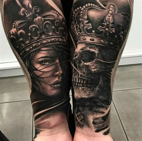 Queen Ink Tattoo Huddersfield | king queen da ink tattoo inspo pinterest tattoo