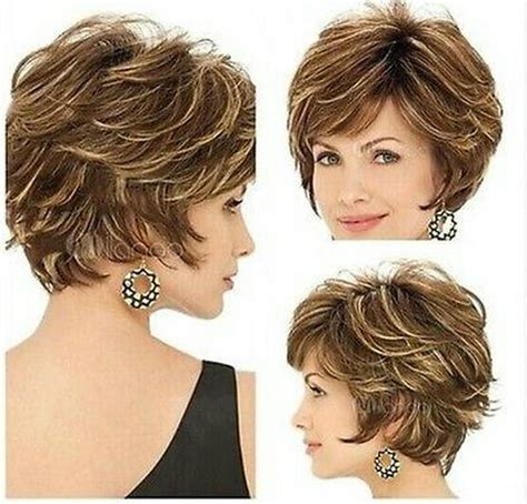 highlights for short brown hair 2015 new style golden brown with blonde highlights short