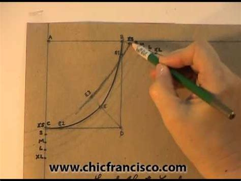 pattern drafting theory lesson 3 1 introduction part 1a pattern drafting of a