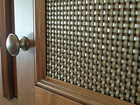 wire mesh panels for cabinet doors 8 best images about banker wire mesh cabinetry infill on
