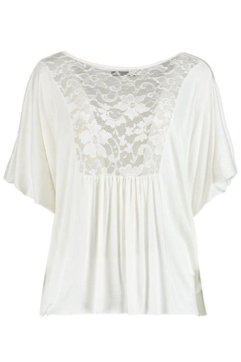 Sleeve Lace Panel T Shirt boohoo womens niamh sleeve lace panel t shirt ebay