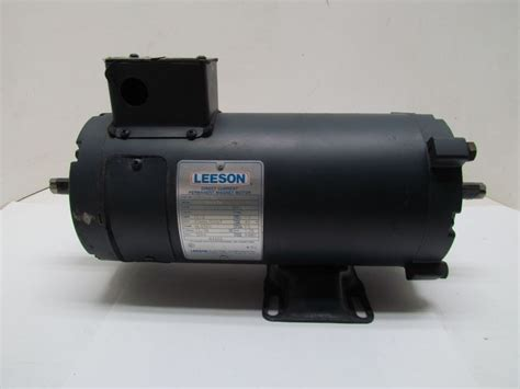 direct current motor leeson c4d17nk47a 2hp 1750rpm 180vdc tenv direct current