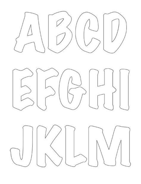 Modeles De Lettre Alphabet Gabarit De Lettres Pour Appliqu 233 S Printable