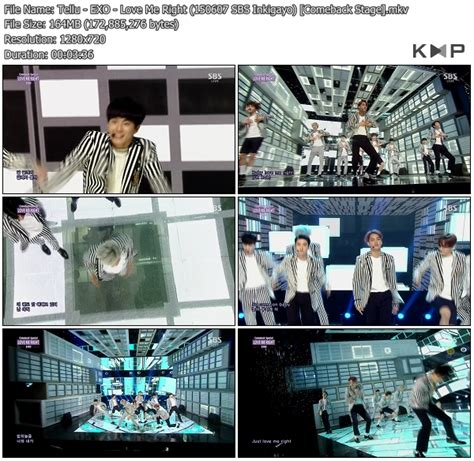 download mp3 exo love me right k2nblog download perf exo love me right sbs inkigayo 150607