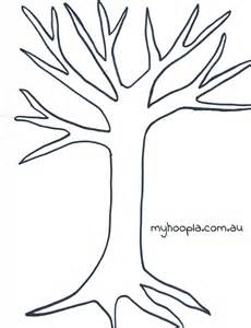 Tree Stencil Template by Printable Tree Template Coloring Home