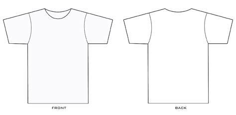 Printable Designs For T Shirts Printable 360 Degree Fashion Design T Shirt Templates