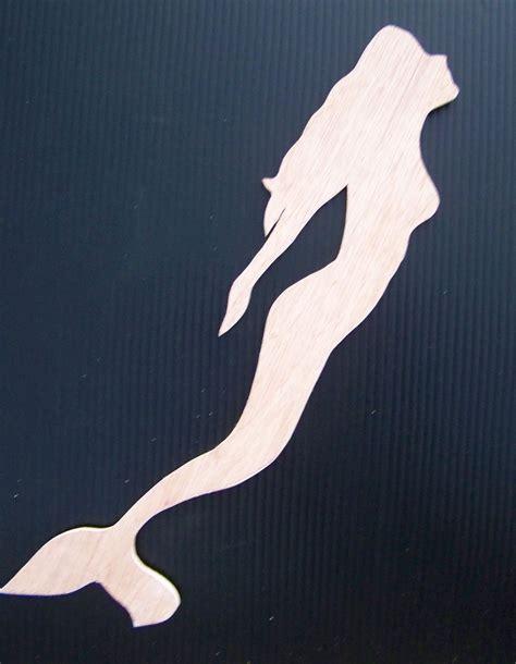 mermaid templates mermaid woodie cut out 17x4