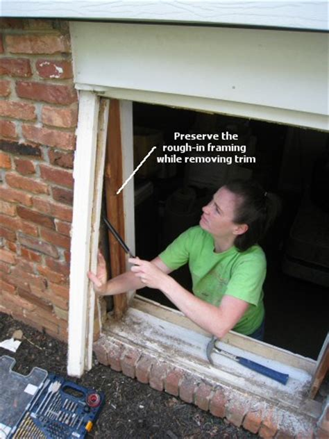 how to install a replacement window in a brick house how to install a replacement window one project closer