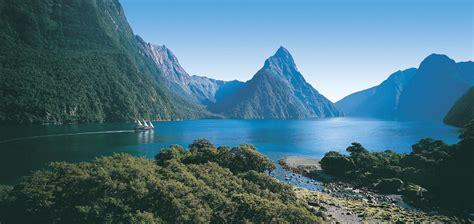 fjord in new zealand fiordland nz queenstown new zealand