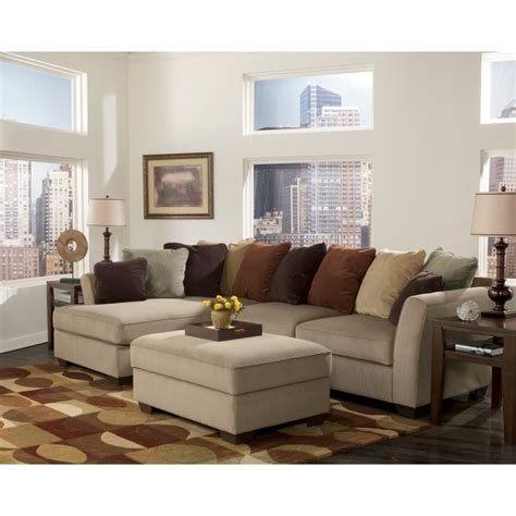 ashley mocha sectional 70704 16 67 ashley furniture laken mocha sectional