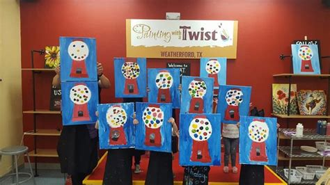 paint with a twist weatherford theme nights picture of painting with a twist