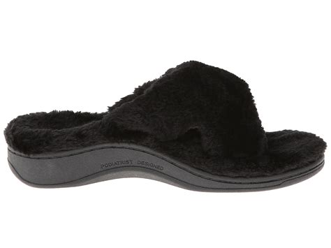 orthaheel relax slipper vionic with orthaheel technology relax luxe slipper