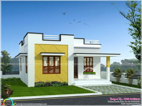 rs 12 lakh budget home in kerala kerala home design