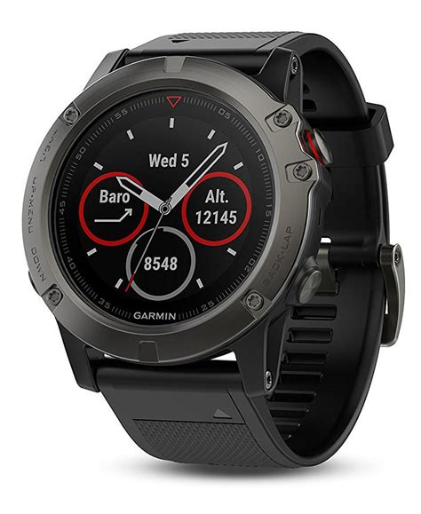 Garmin Band Tali Jam Tanggan Fenix 5 Black garmin fenix 5 gps with maps best hiking