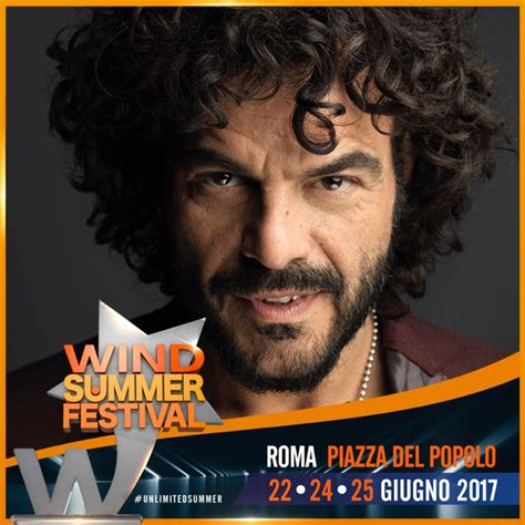 wind summer festival francesco renga wind summer festival