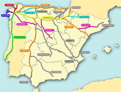 camino de santiago mappa camino de santiago tiempo y clima