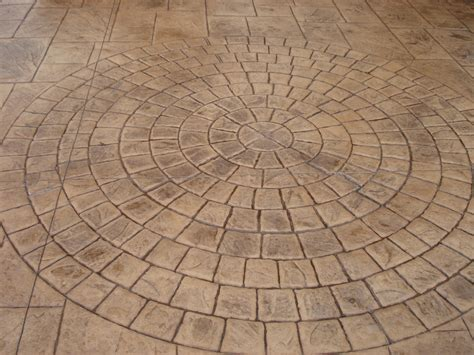 what is pattern imprinted concrete bespoke features pattern imprinted concrete driveways