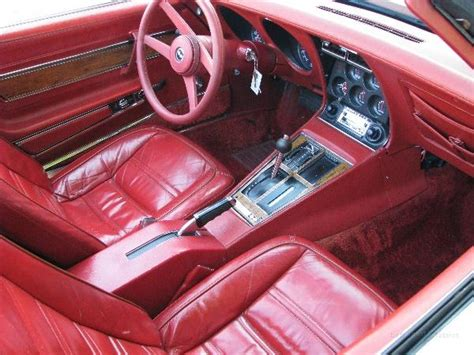 1976 corvette stingray interior img 6683