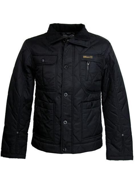 Longcoat Finny Navy Jaket Sweater 0109 mens quilted newark style jacket coat black by dissident ebay