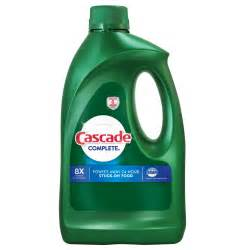 Dishwasher Detergent Review Cascade Complete Gel Citrus Cascade Detergent