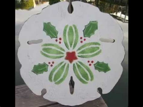 sand dollar craft decorating ideas youtube