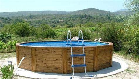 piscine fuori terra rivestite in legno piscine fuori terra piscine realizzazione di piscine