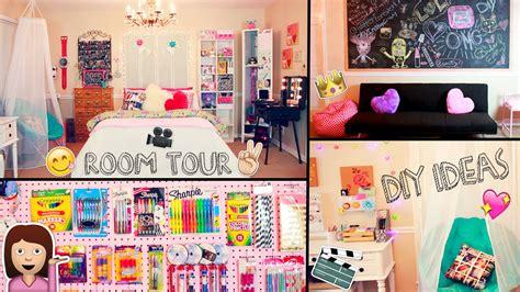 Diy Desk Decor Ideas Diy Desk Decor Ideas With Room Tour 2015 Diy Desk Tour Diy Decor Ideas And Organization