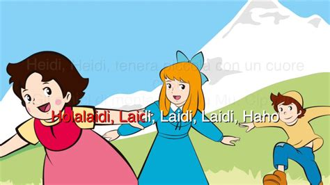 heidi sigla testo heidi karaoke sigla italiana canzoni per bambini
