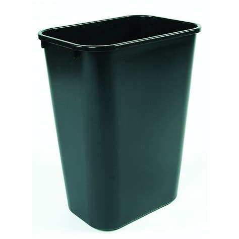 scow back waste containers small plastic trash can office wastebasket office bins