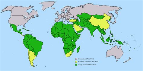 file third world countries map world 2 png wikimedia commons - Third World Countries In