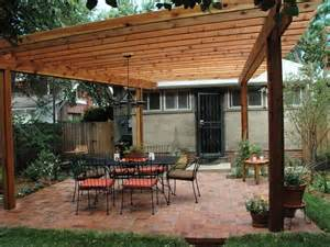backyard pergola attached to house home design ideas outdoor furniture build plans home made by carmona