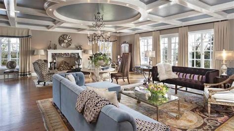 Tuscan House Design by 15 Mansion Living Room Ideas Overflowing With