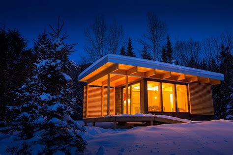 Small Homes Canada Small Modern Shed Roof Cabin Plans Shed Roof Cabin Plans