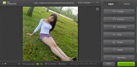 cara edit foto dengan photoshop seperti camera 360 bibir orange edit foto dengan camera360 online editfotoline