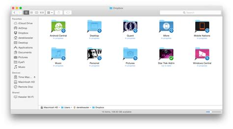 dropbox folder sync how to sync your mac s documents desktop and any other