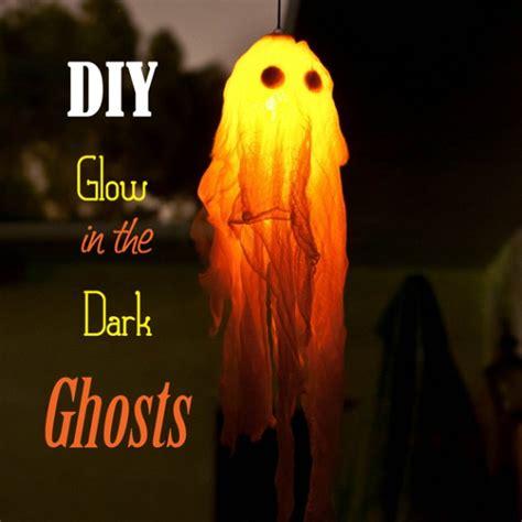 diy ghost diy outdoor decorations the idea room