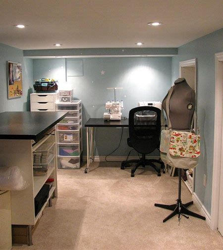 basement craft room an small basement craft room basements for the home