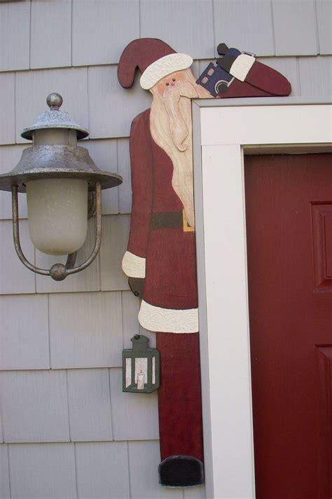 wood pattern making debi s doings pattern santa door hugger doors