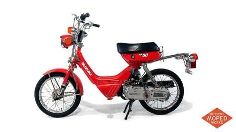 Moped Suzuki 1985 Suzuki Fa50 Shuttle Kickstart Noped Sold