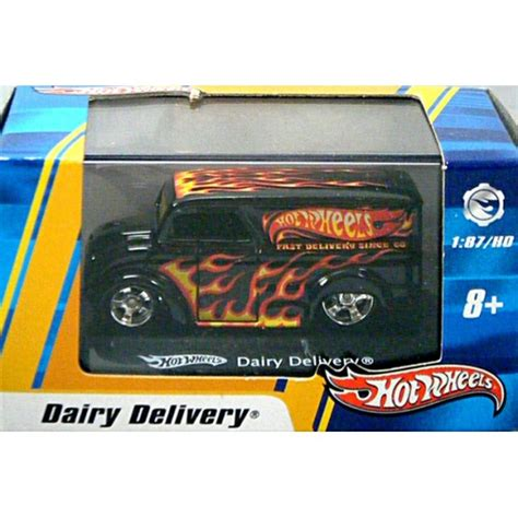 Dairy Delivery Hotwheels wheels ho scale dairy delivery divco rod milk